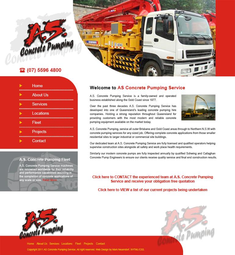 AS Concrete Pumping Service