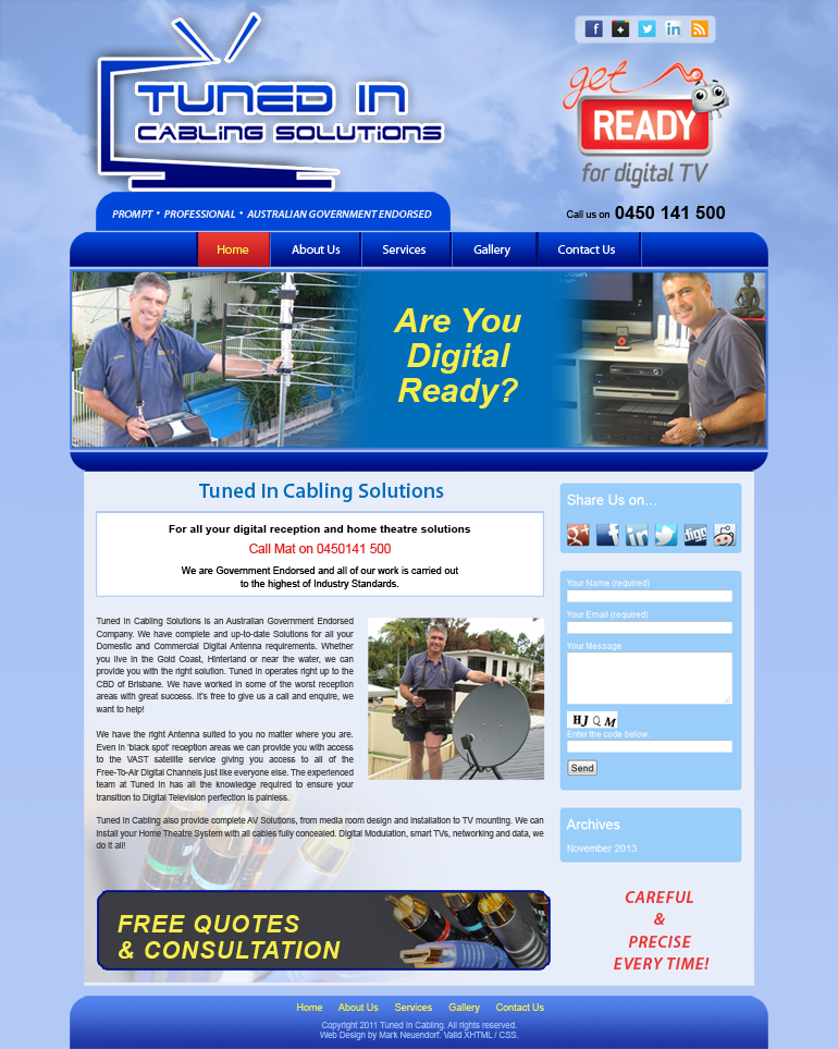 Tuned In Cabling Solutions