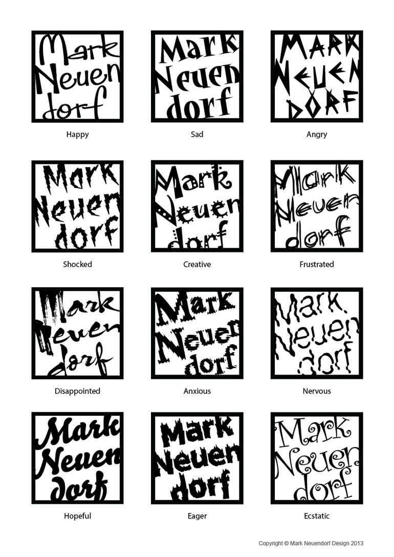 Typography Moods